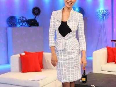 香港凤凰卫视主持人柯蓝 跳进娱乐圈人民的名义火了