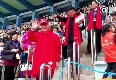 """六小龄童在香港 六小龄童出席香港第十一届""""校园之星""""展示交流会"""