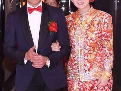 郭富城婚礼伴郎团 天王郭富城终于结婚